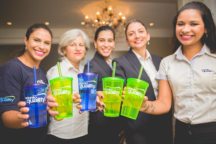 Equipe Clínica Odontoquality pratica hábitos saudáveis