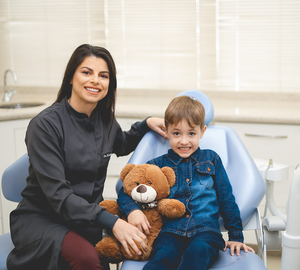 Dentista para crianças em Tijucas e em Florianópolis